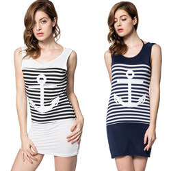 Anchor Print Dress, FBPP0000013551