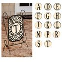 Filigree Monogram Applique Garden Banner, FBPP0000013657