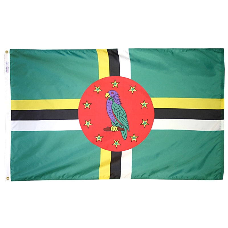 Commonwealth of Dominica Flag, FBPP0000010136