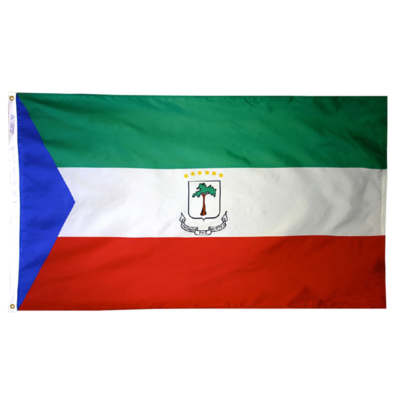 Republic of Equatorial Guinea Government Flag, FBPP0000011777