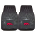 University of Arkansas Vinyl Car Mat, FM8762