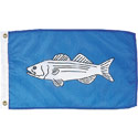 Striped Bass Flag, FUNBASS1218