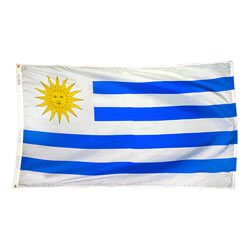Eastern Republic of Uruguay Flag, FBPP0000010313
