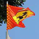 Ferrari custom flag