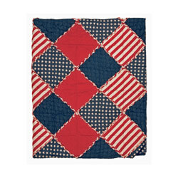 Betsy Patchwork Throw Blanket, GFI0511
