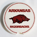Arkansas Razorbacks Car Coaster, GFICQ1011CC