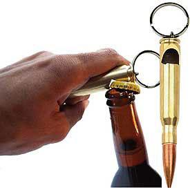 50 cal bullet bottle opener keychain. Black Bedroom Furniture Sets. Home Design Ideas