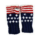 American Flag Fingerless Gloves