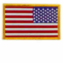 Reversed US Flag Patch, GPATCUS23R