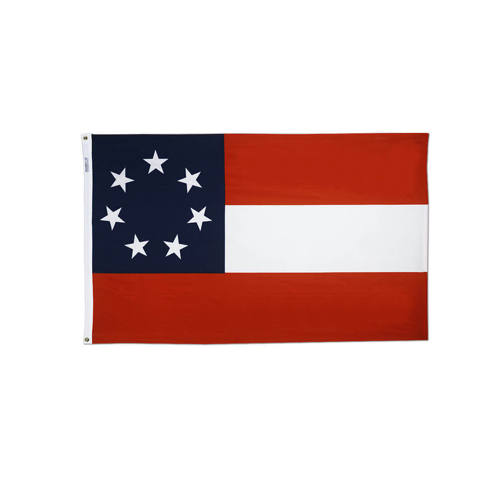 first national stars and bars confederate flag nylon 2x3