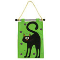 Black Cat Banner, HHL57502BC