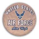 Air Force Plush Pillow, HTB50950