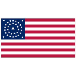 34 Star Union Civil War Flag (Nylon)