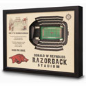Arkansas Razorbacks Stadium Wall Hanging, IDNA3DARK