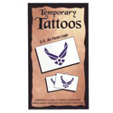 Air Force Logo Temporary Tattoos, III1759