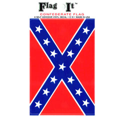 Confederate Flag Decal, III2005