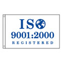 ISO 9001:2000 Certified Flag