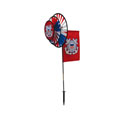 Coast Guard Dual Wheel Spinners with Flag, ITB2881