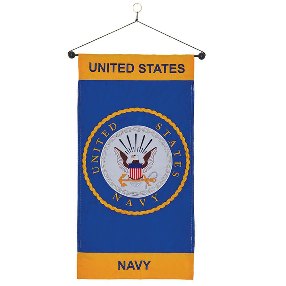 Navy Hanging Banner
