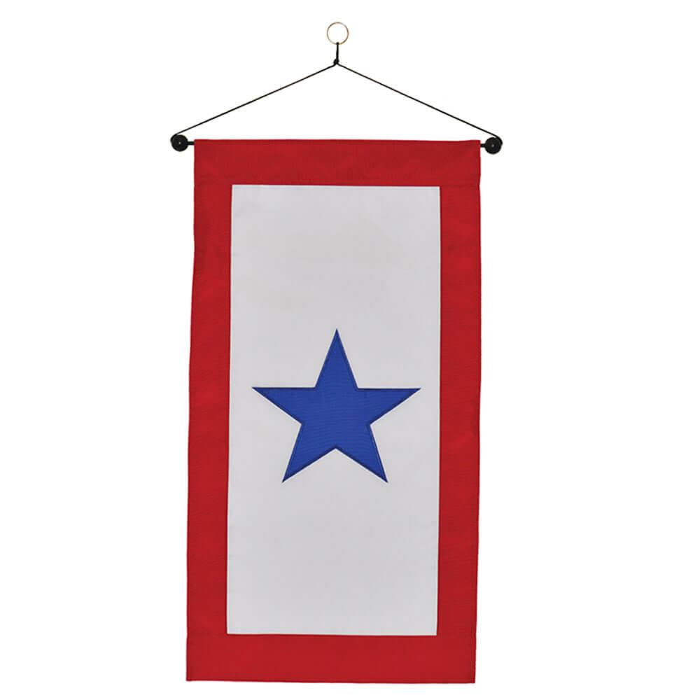 Service Star Hanging Banner