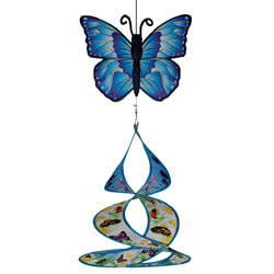 Butterfly Theme Duet Wind Spinner, ITB4809