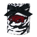 Arkansas Razorbacks Zebra Print Can Koozie, J32637
