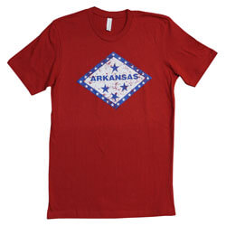 Arkansas Diamond State Tshirt, FBPP0000013750