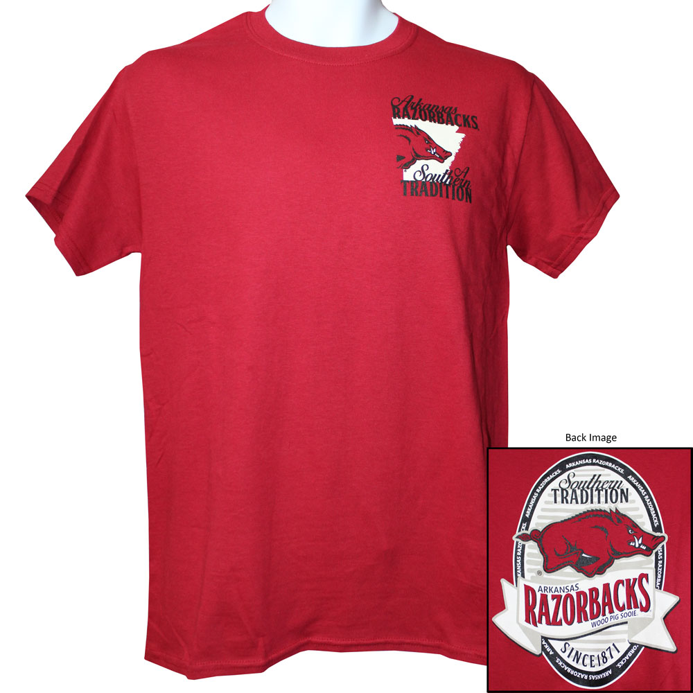 Arkansas Razorbacks Tradition T-Shirt, J61491M