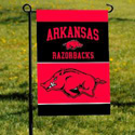 Arkansas Razorbacks Flag with Pole & Suction Cups, JAG83142