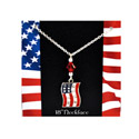 Americana Swarovski Necklace, JFASN
