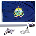 Vermont Tangle Free Flagpole Set