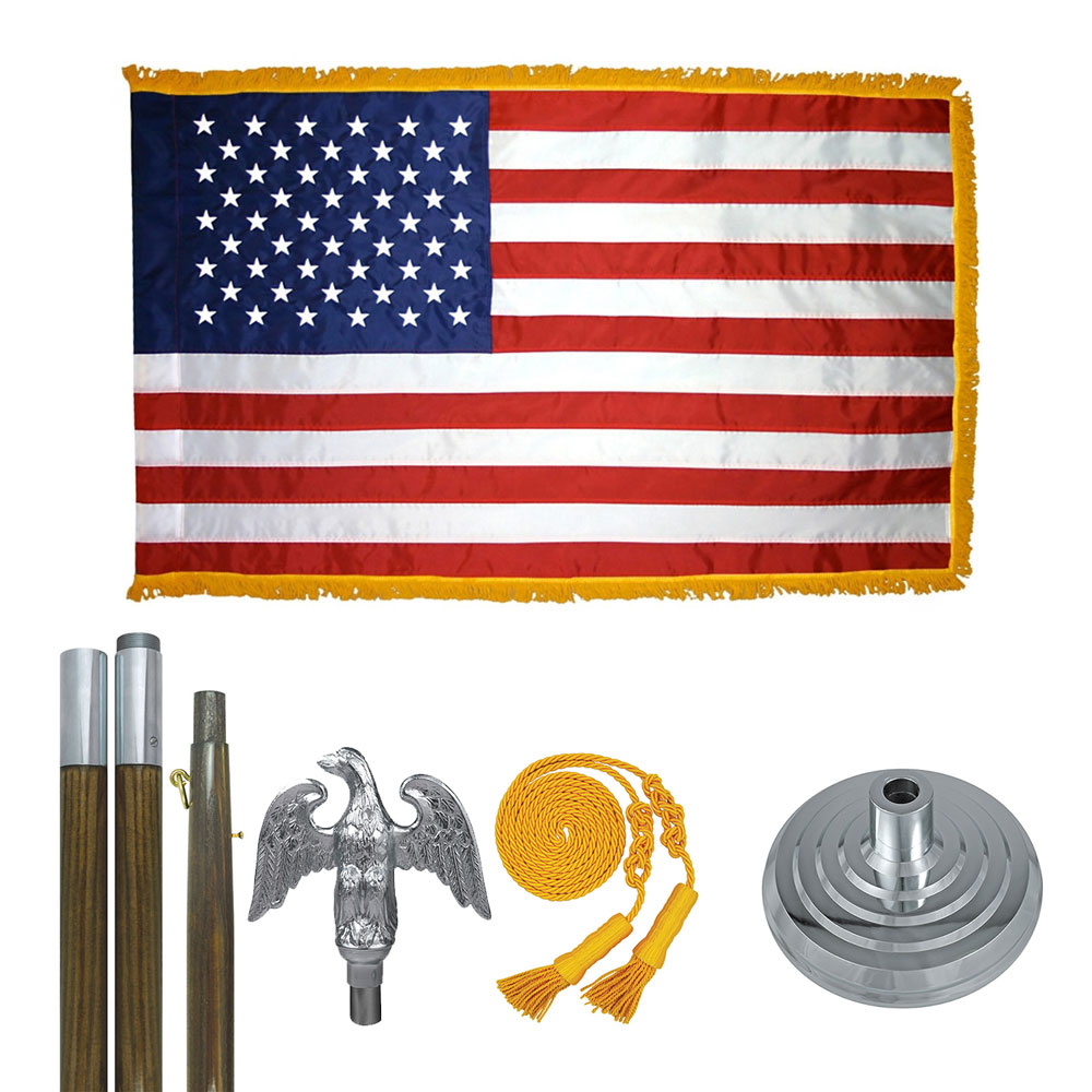 Standard United States Indoor Flag Kit, FBPP0000013665