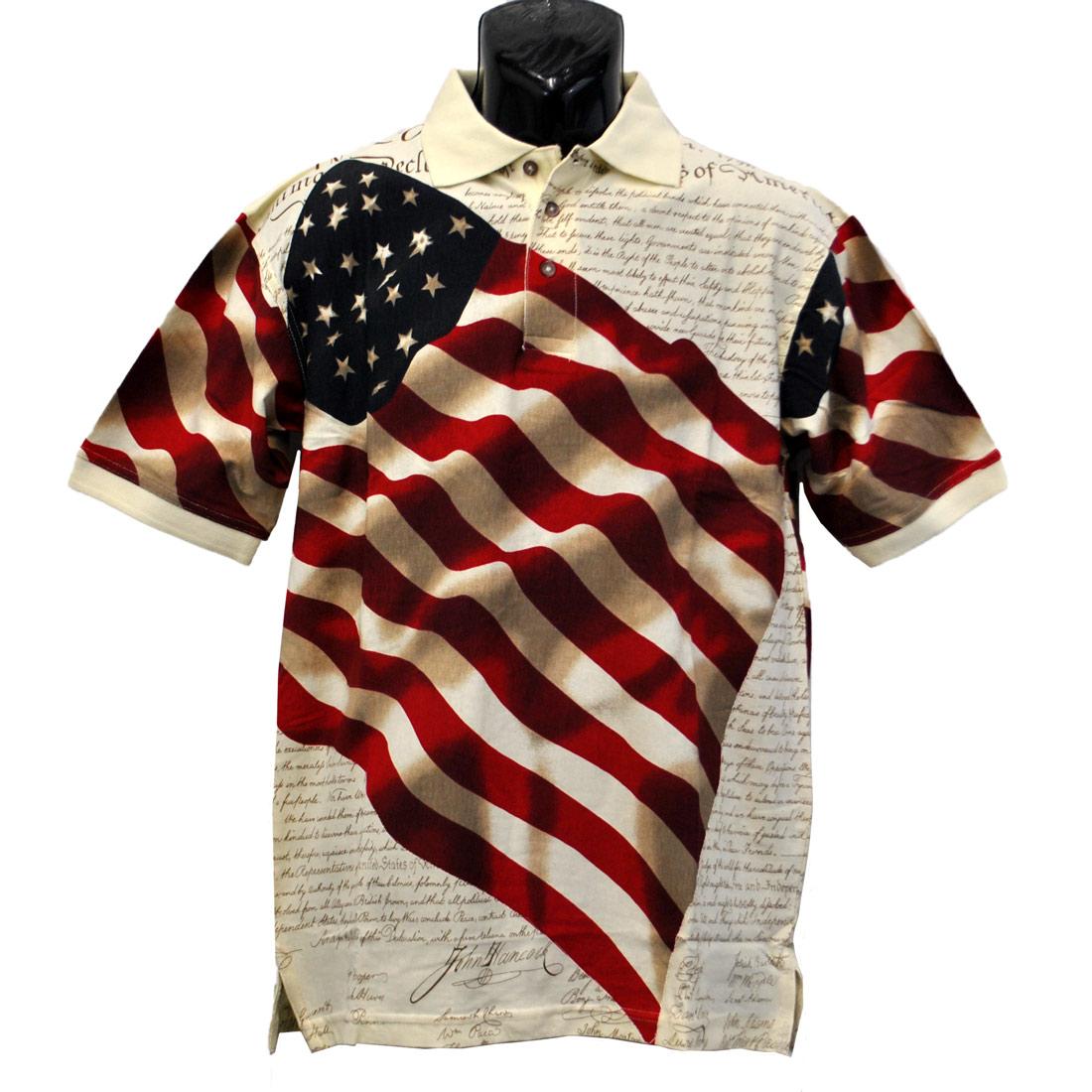 6f356b8a Constitution Flag Shirt