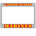 Marine Corps Motorcycle License Plate Frame, LP2924M