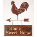 Rooster Home Sweet Home Sign, LRI005084A