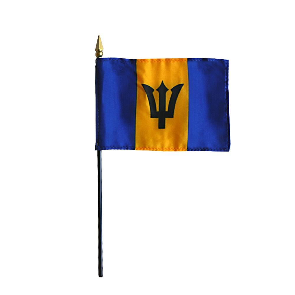 Barbados Miniature Flag