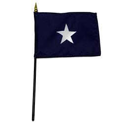Bonnie Blue Miniature Flag, MBONN46