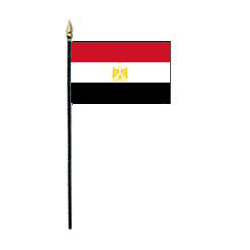 Arab Republic of Egypt Miniature Flag, MEGYP46