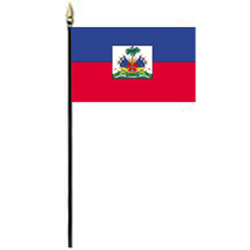 Haiti Miniature Flag, FBPP0000010621