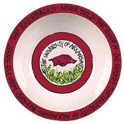 Arkansas Razorbacks Melamine Serving Bowl, ML23002