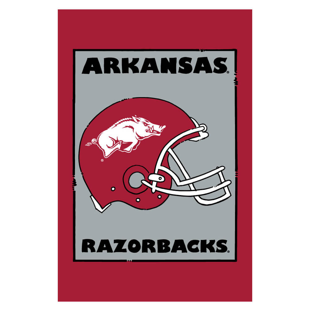 Arkansas Razorbacks Banner and Scroll Sign