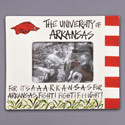 Arkansas Razorbacks Fight Song Picture Frame, ML53008