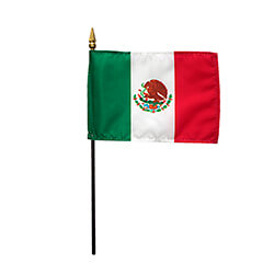 Mexico Miniature Flag, FBPP0000011001