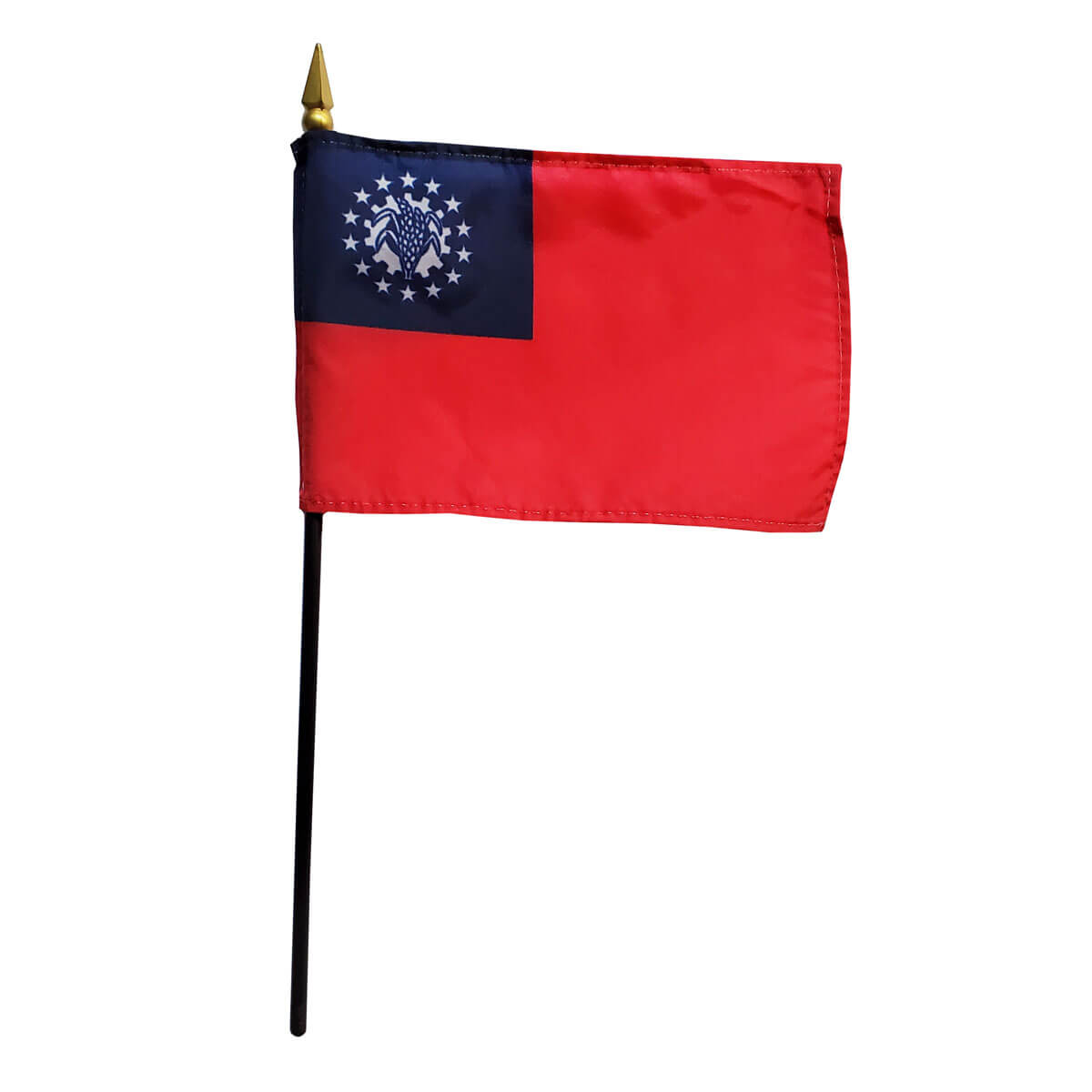 Union of Myanmar (Burma) 1988-2010 Miniature Flag