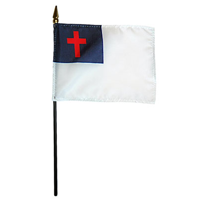 Christian Miniature Flag, MRCHRI46