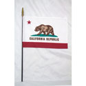 California Miniature Flag, MSCA812