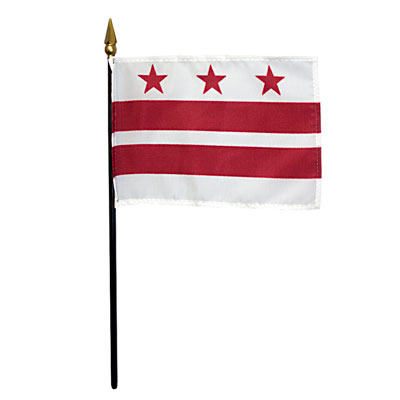 District of Columbia Miniature Flag