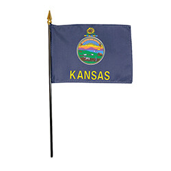 Kansas Miniature Flag, FBPP0000010814