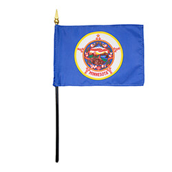 Minnesota Miniature Flag, FBPP0000011023