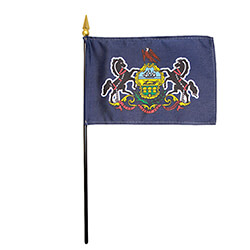 Pennsylvania Miniature Flag, FBPP0000011345